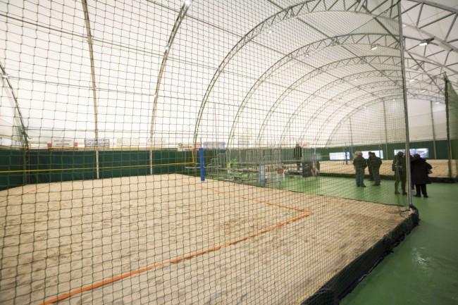 inaugurazione campo beach volley stadio helvia recina foto ap (2)