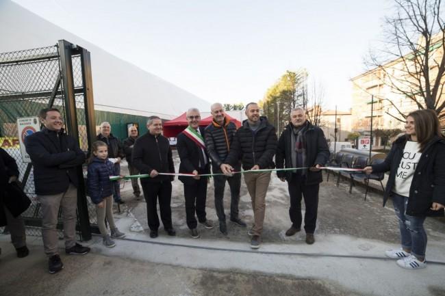 inaugurazione campo beach volley stadio helvia recina foto ap (3)