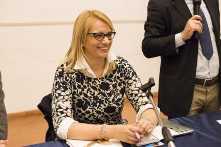 La parlamentare maceratesi, Irene Manzi
