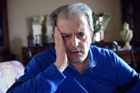 Ivo Costamagna a casa, dopo le cure
