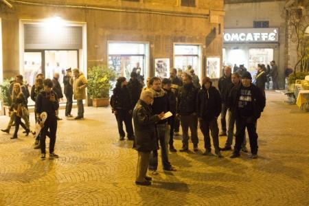 manifestazione centri sociali immigrati attentati piazza battisti foto ap (10)