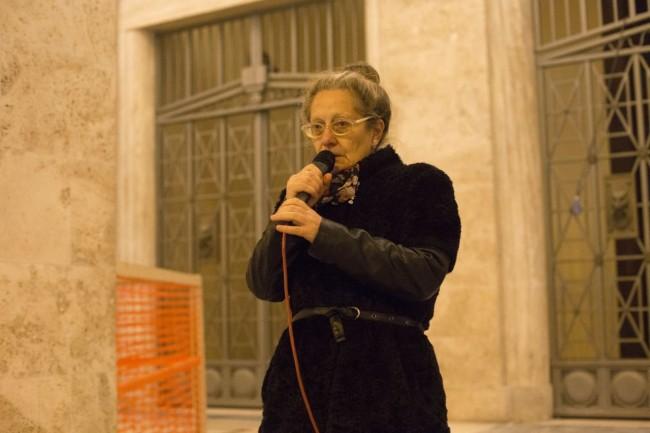 manifestazione centri sociali immigrati attentati piazza battisti foto ap (9)
