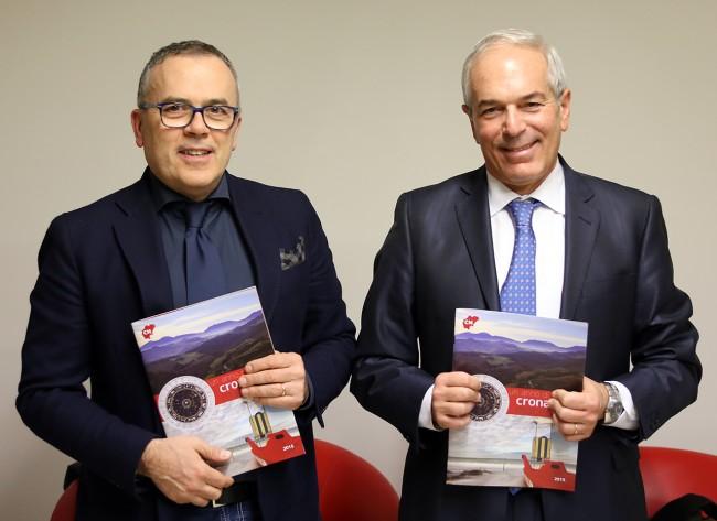 Alessandro Maccioni con il procuratore Giovanni Giorgio