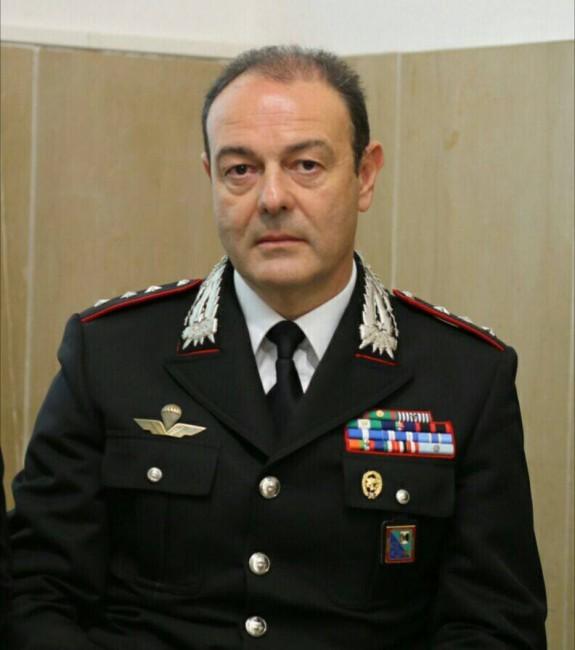 Il capitano Enzo Marinelli, comandante dei carabinieri della Compagnia di Civitanova