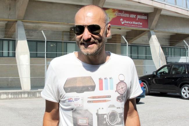 Il preparatore dei portieri della Maceratese Luca Gentili