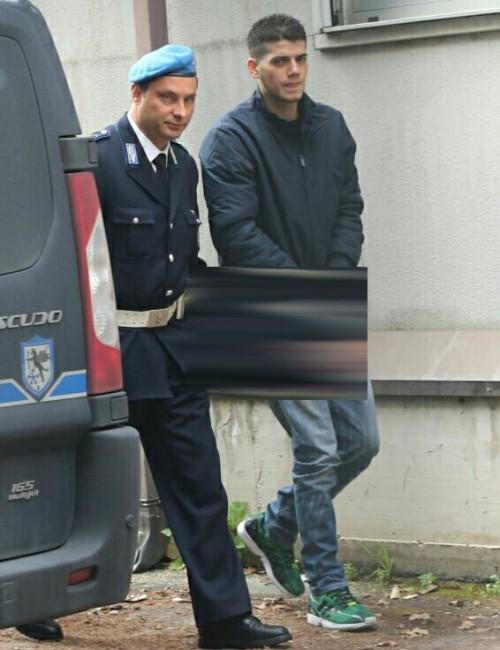Salvatore Farina questa mattina in tribunale