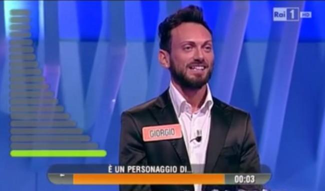 Giorgio Paciarelli a L'Eredità