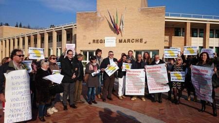 La protesta dei punti nascite in Regione