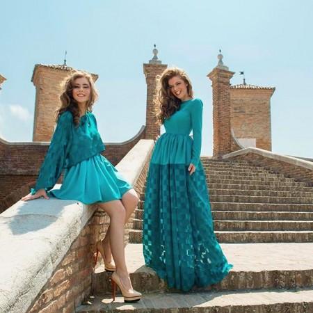 Abiti Veronica e Francesca Feleppa