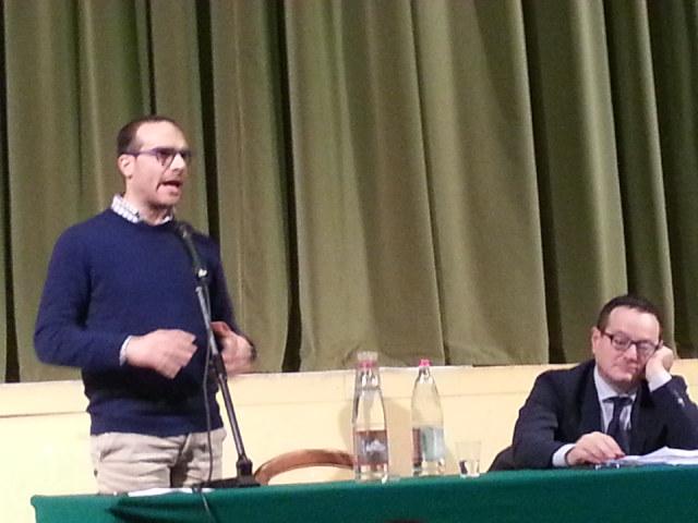 Alessandro Casoni presidente consiglio comunale Matelica