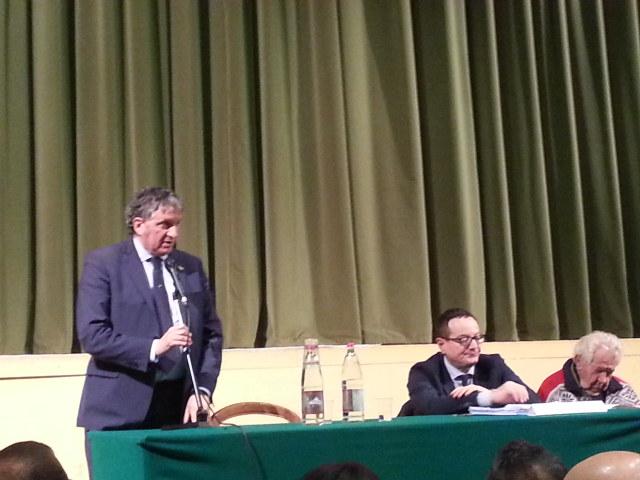 Giuseppe Pezzanesi sindaco Tolentino