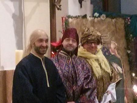I tre re Magi passati nella parrocchia di San Giuseppe