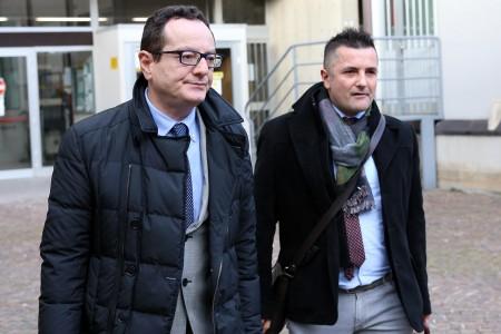 Marco Massei e Mauro Riccioni, avvocati dei Farina