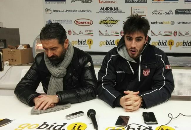 Nacciarriti e Colombi commentano il match pareggiato con la Lupa Roma