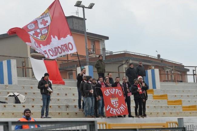 I tifosi della Maceratese a Savona