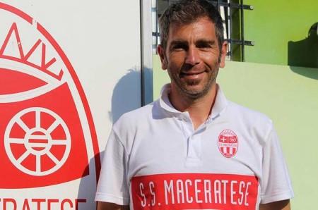 Matteo Angeletti, tecnico della Juniores della Maceratese