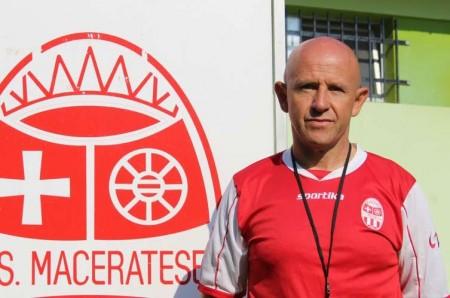 Giovanni Ciarlantini, allenatore della Berretti della Maceratese