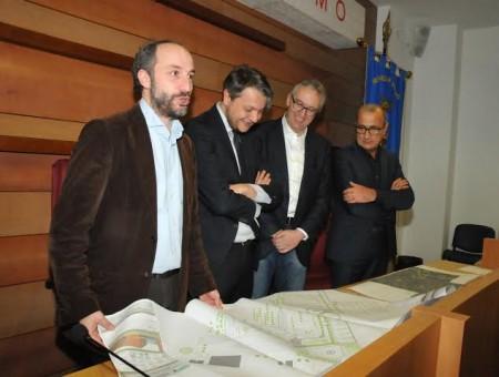 L'incontro tra le amministrazioni della Regione e del Comune di Fermo