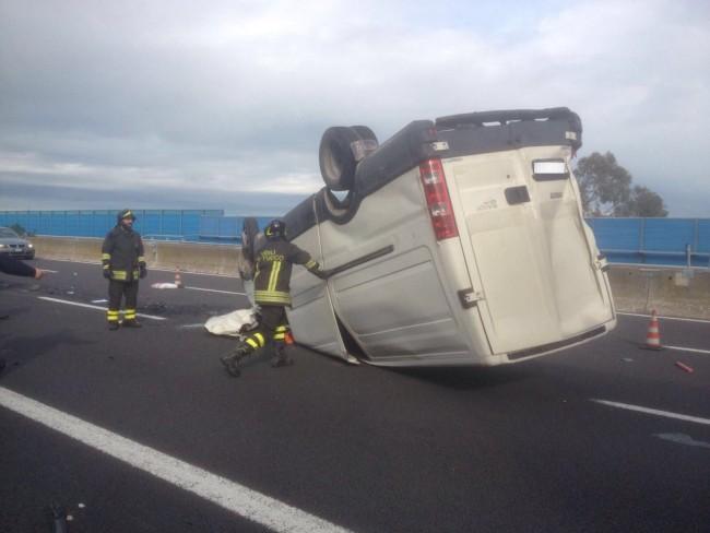 incidente autostrada 4