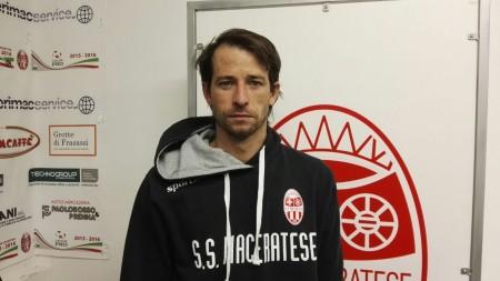 Il brasiliano Romulo Eugenio Togni, centrocampista della Maceratese