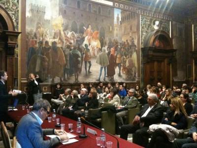 Il convegno di oggi nell'aula magna dell'università di Macerata