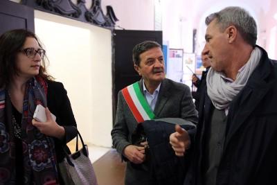 Il sindaco Cesare Martini questa mattina ha incontrato Laura Boldrini