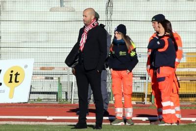 Cristian Bucchi, allenatore della Maceratese