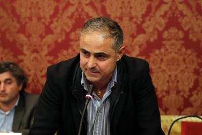 Marco Foglia, uno dei consiglieri dell'Udc che ha proposto l'ospedale a Villa Potenza