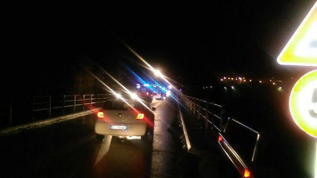 L'incidente sul ponte