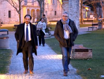 Il governatore Luca Ceriscioli all'Abbadia di Fiastra per il direttivo Pd