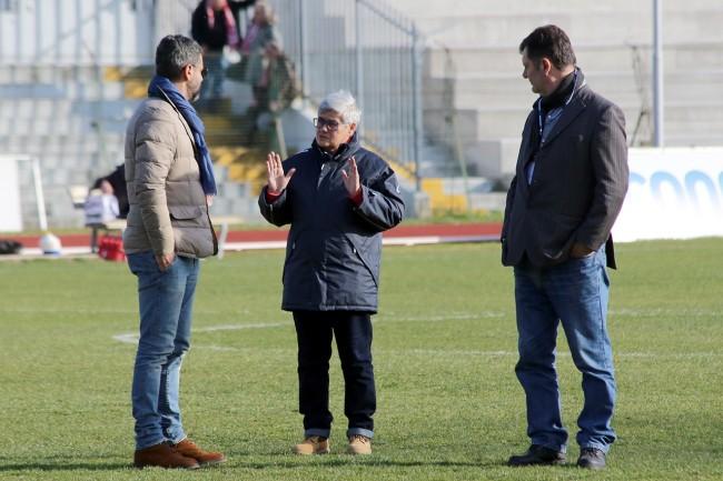 La presidentessa Tardella a colloquio con Spadoni e Nacciarriti