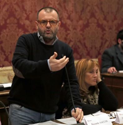 Riccardo Sacchi, capogruppo di Forza Italia