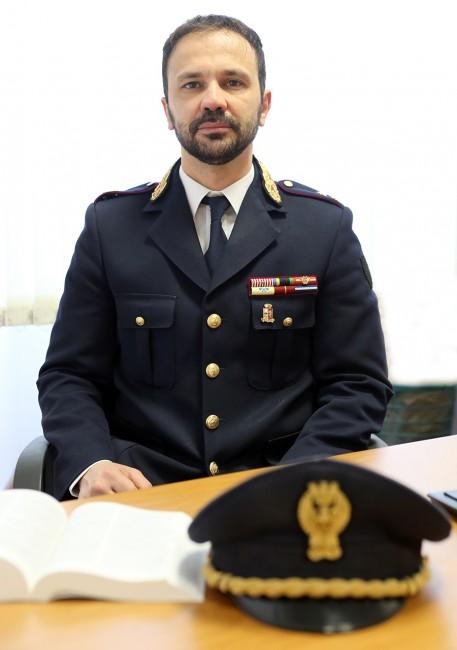 Sandro Tommasi, dirigente delle volanti e dell'Ufficio prevenzione crimine della questura