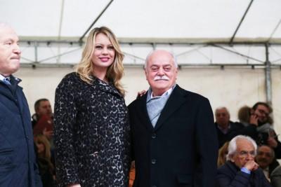 Anna Falchi con Antonio Ppettinari