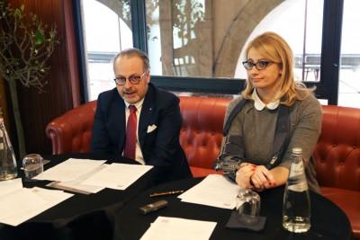 Maurizio Natali e Irene Manzi