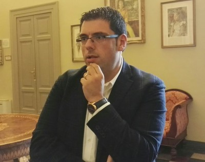 Il sindaco Francesco Fiordomo