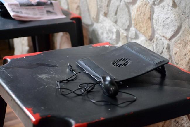 Rubato anche un laptop