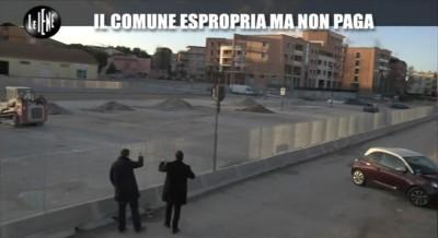 Il sopralluogo delle Iene con Gabriele Frontoni all'ex area Ceccotti
