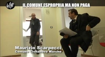 Il dirigente Maurizio Scarpecci atteso dalle Iene