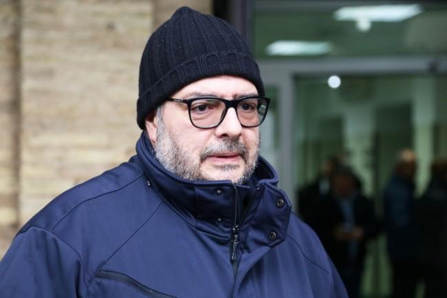 Il dottor Domenico Mazza, dell'equipe del medico legale Cingolani