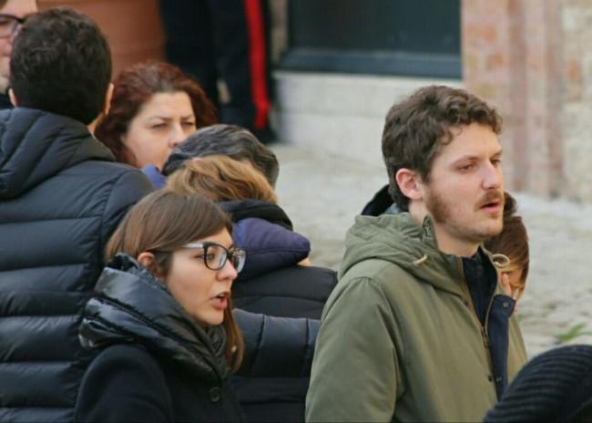 Riccardo Lucaroni, il fratello del padre di Giosuè