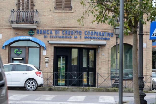 La filiale dove è stato fatto il bancomat di 50 euro