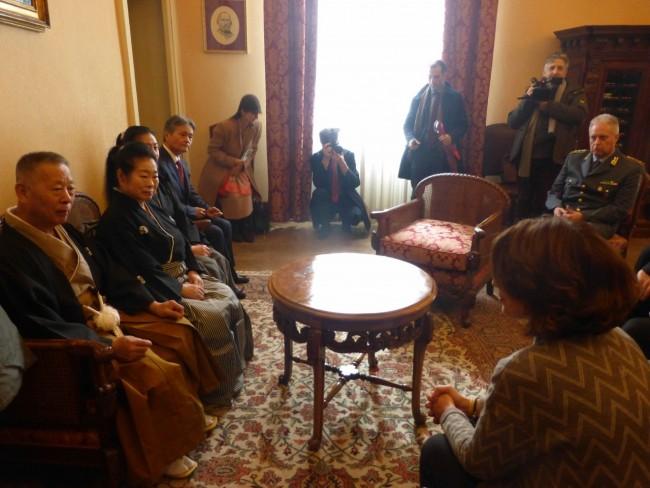 visita giapponese maestro di spada prefettura carancini preziotti pianesi macrobiotico macerata 4