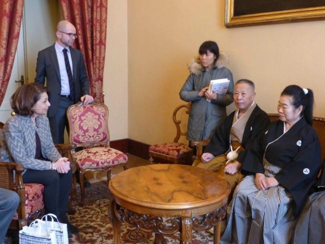 visita giapponese maestro di spada prefettura carancini preziotti pianesi macrobiotico macerata 7