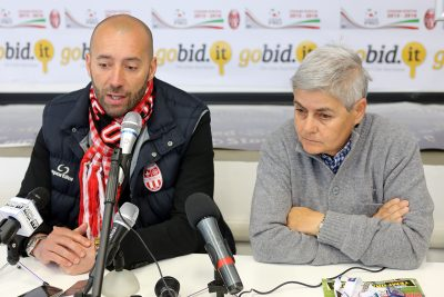Cristian Bucchi e Maria Francesca Tardella