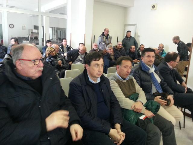 Leonelli, Marinelli, Crescimbeni, Riccioni e Salvi