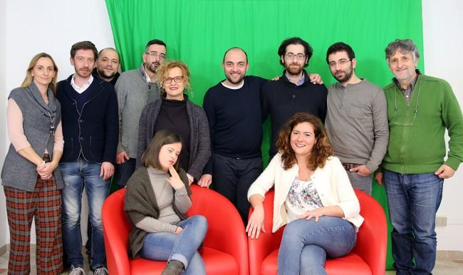 Maria Paola Rosini in visita alla redazione di Cronache Maceratesi