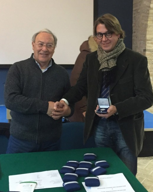 Premiazioni di Giovanni Giacchi per i 25 anni di iscrizione