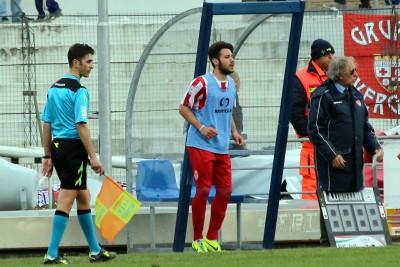 Salvatore Rizzo all'esordio in prima squadra