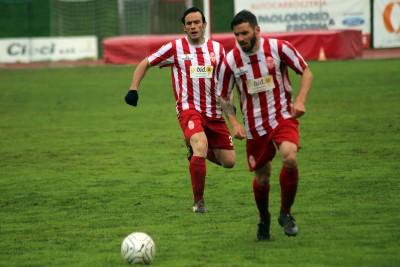 Il centrocampista della Maceratese Fabio Foglia